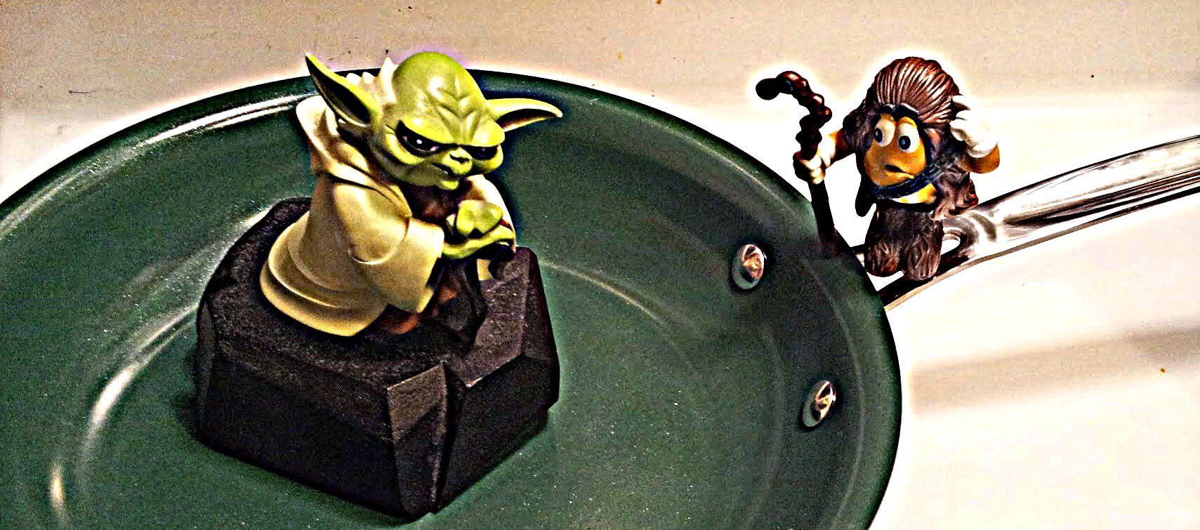 Yoda Chewie Skillet