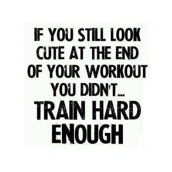 Fitness Meme - Looking Cute