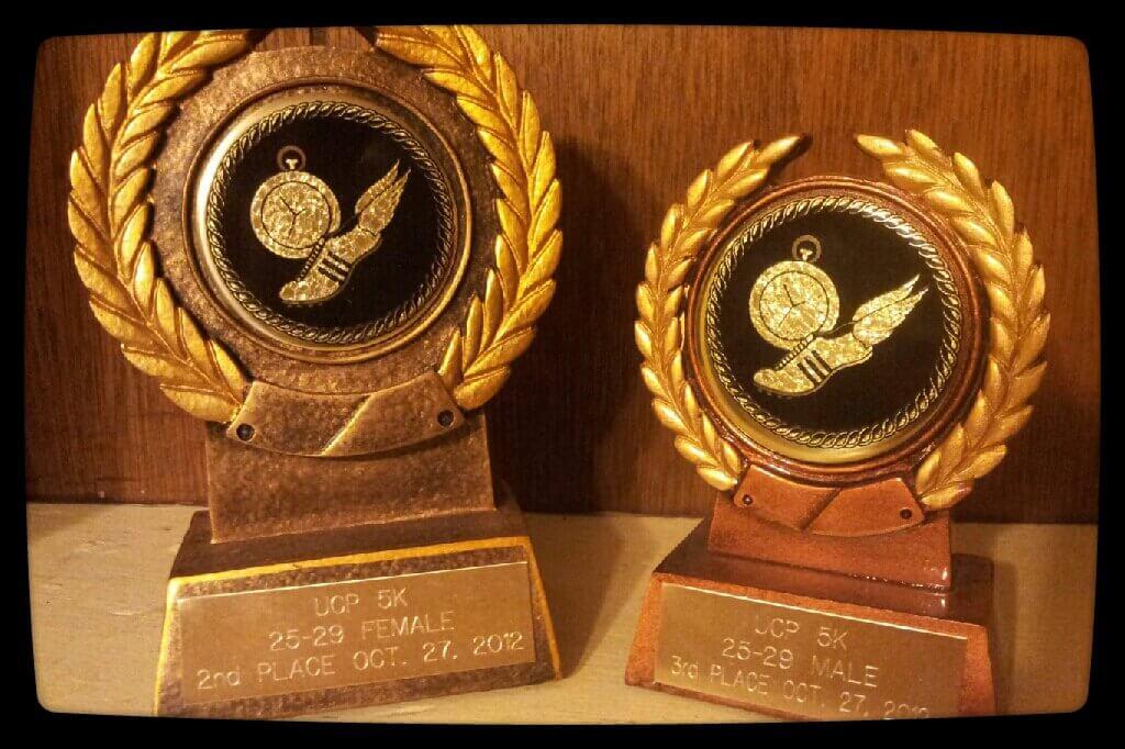 UCP 2012 5K Trophies