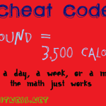 Cheat Codes: Calories in a Pound