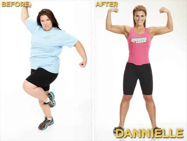 Biggest Loser Before and After Dani