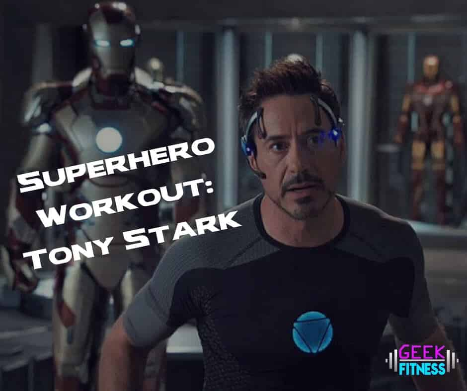 30 Minute Bodyweight Workout: Tony Stark's Iron Man Training
