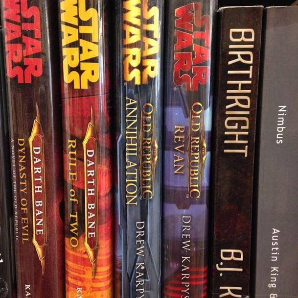 Star Wars Books by BJs