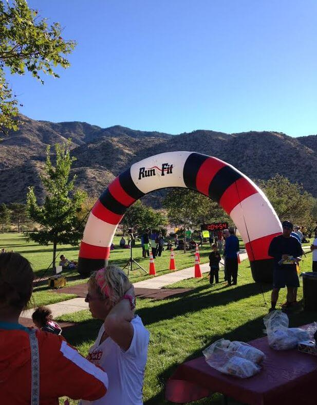 Sandia Mountain Shadows 10k 3