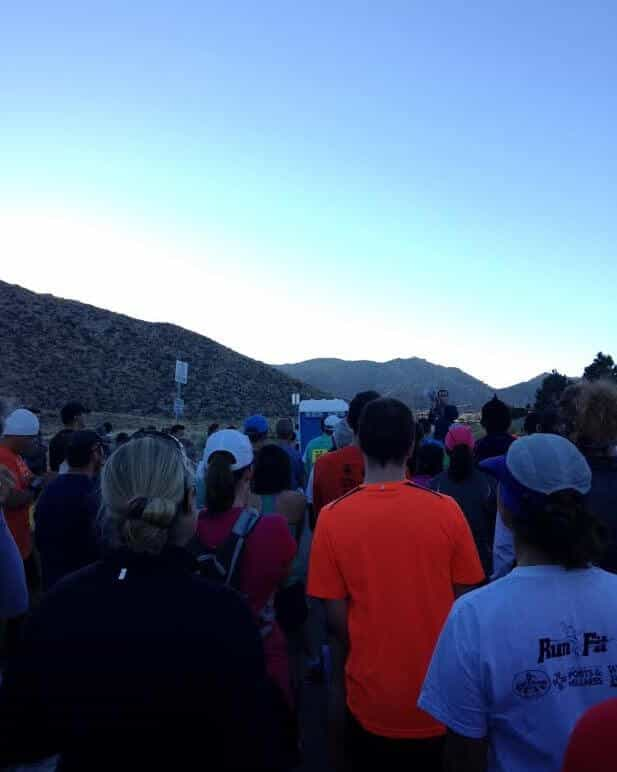 Sandia Mountain Shadows 10k 6