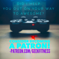 Geek Fitness Patreon Campaign