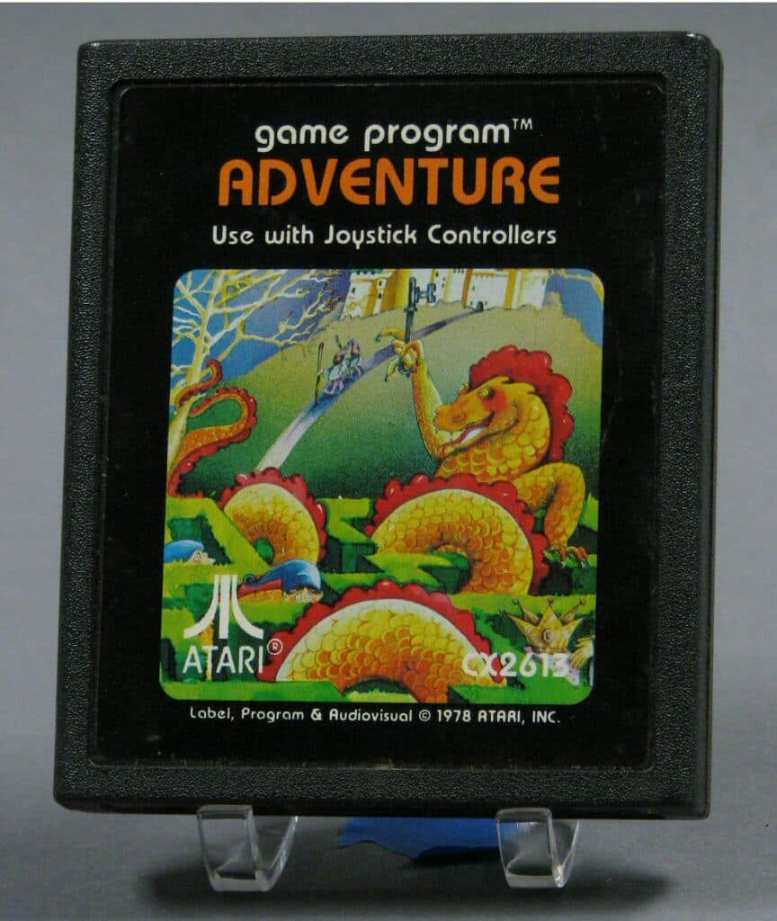 Atari 2600 Adventure Game Cart
