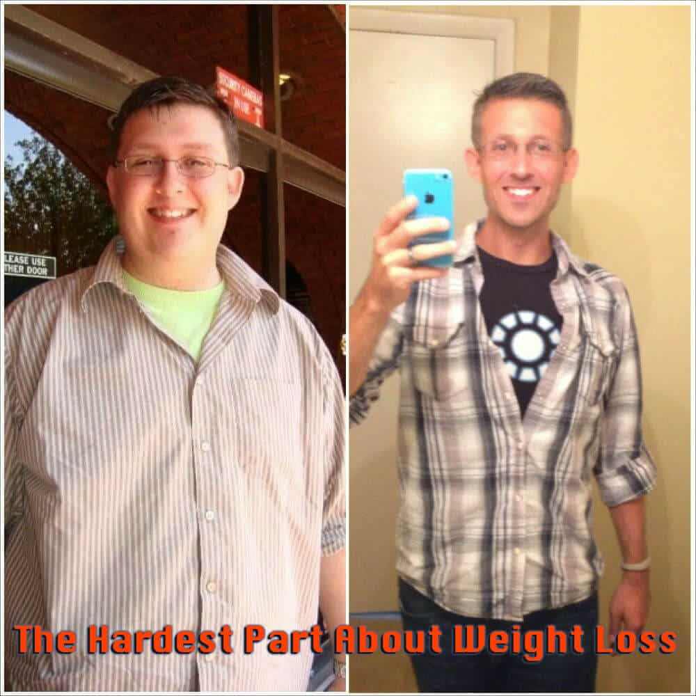 The Hardest Part About Weight Loss Is…