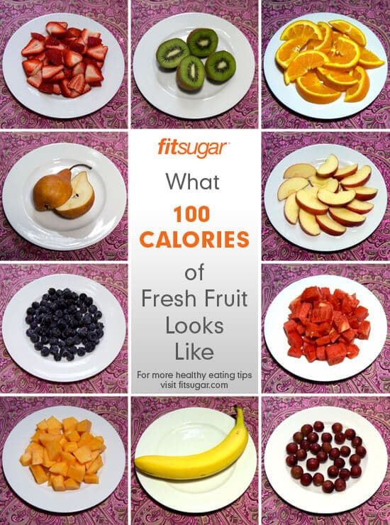 FitSugar 100 calories of Fruit