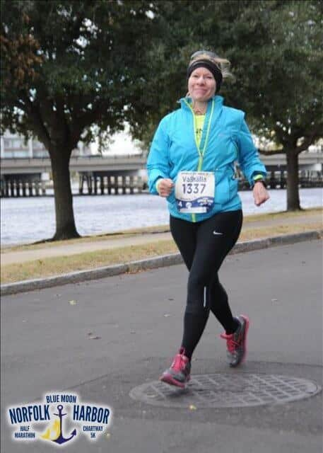 darlene waters half marathon anxiety and ptsd