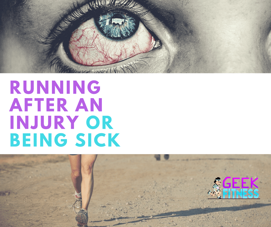 How to start running after an injury or being sick