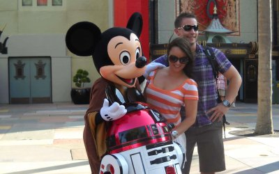 Letting Go and Enjoying a runDisney Star Wars Weekend
