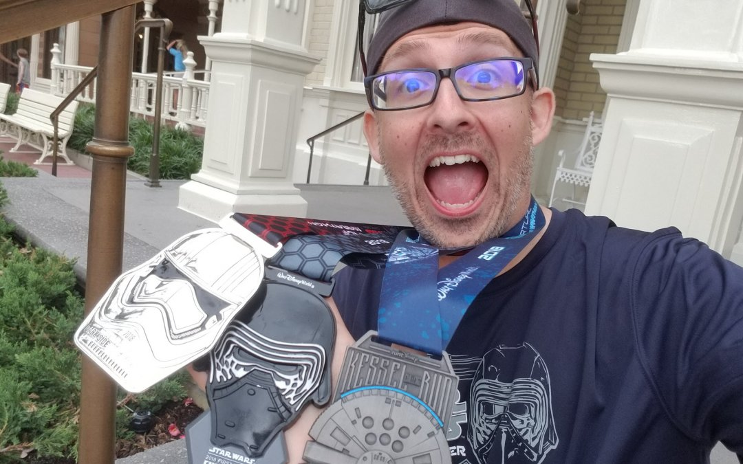 runDisney Star Wars Weekend 2018: Day 4 (Half-Marathon Race Recap)